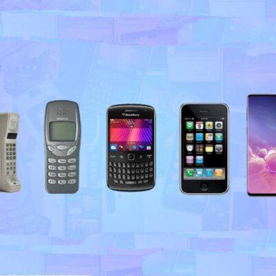 پیشرفت های موبایل